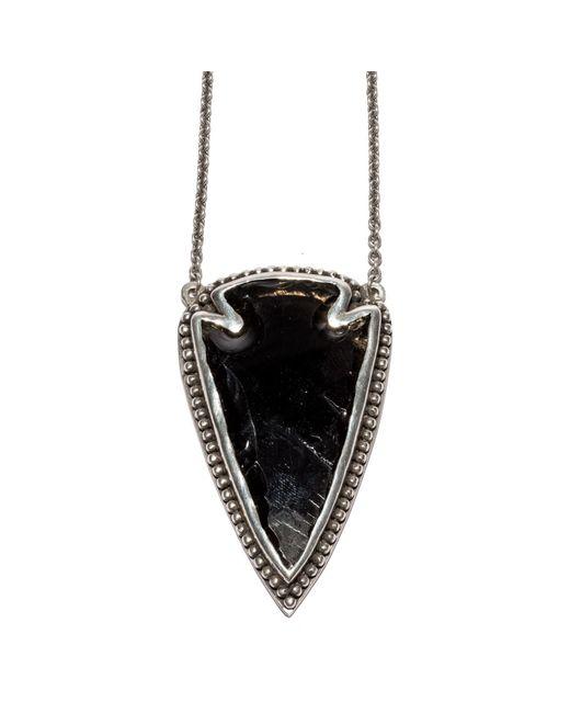 Pamela Love | Metallic Large Arrowhead Pendant | Lyst