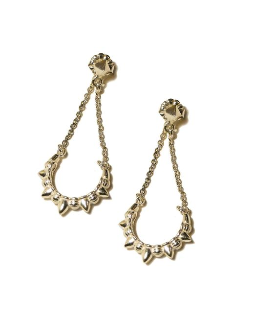 Pamela Love | Yellow Chain Earrings | Lyst