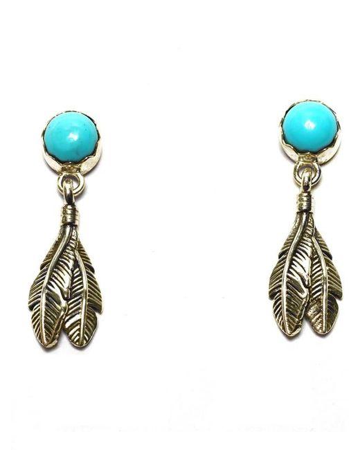 Pamela Love   Blue Pluma Earrings   Lyst