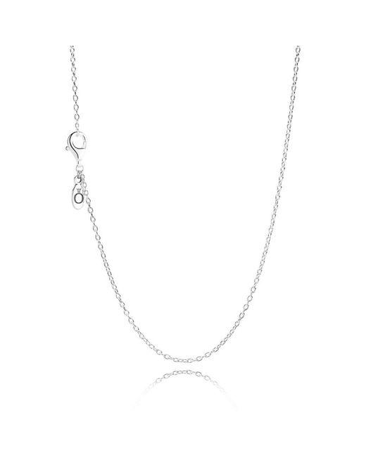 Pandora | Metallic Silver Chain Necklace | Lyst