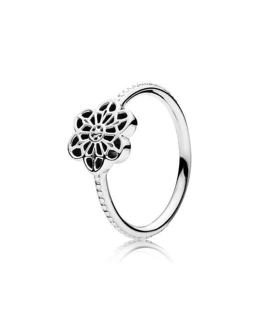 Pandora | Multicolor Floral Daisy Lace Ring | Lyst
