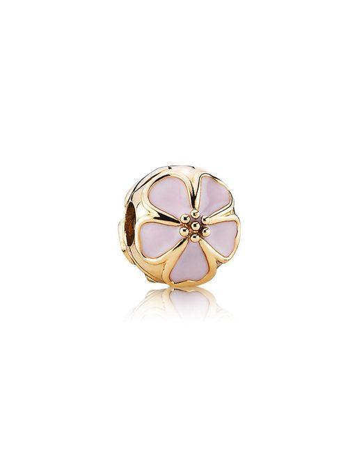 Pandora | Metallic Pink Cherry Blossom Clip | Lyst