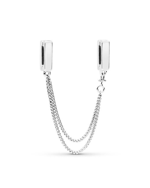 Pandora Multicolor Reflexions Floating Safety Chain
