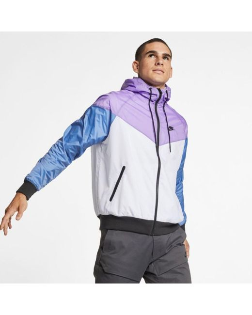 4c4fe393a57d Nike - Multicolor Sw Windrunner Jacket for Men - Lyst ...