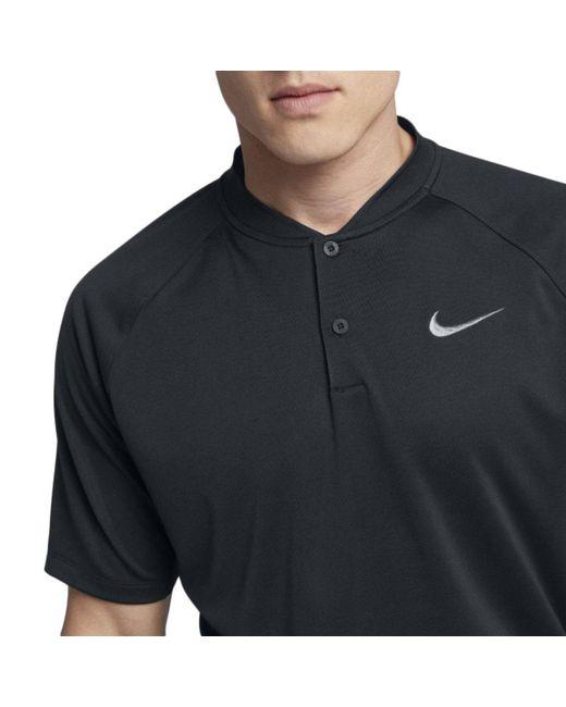 289875c81 ... Nike - Black Dry Momentum Golf Polo Shirt – Mens for Men - Lyst