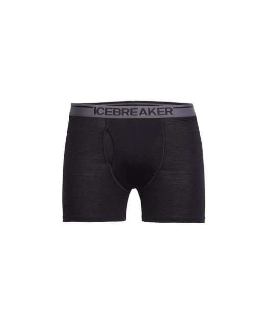 Icebreaker - Black Anatomica Boxers With Fly – Mens for Men - Lyst