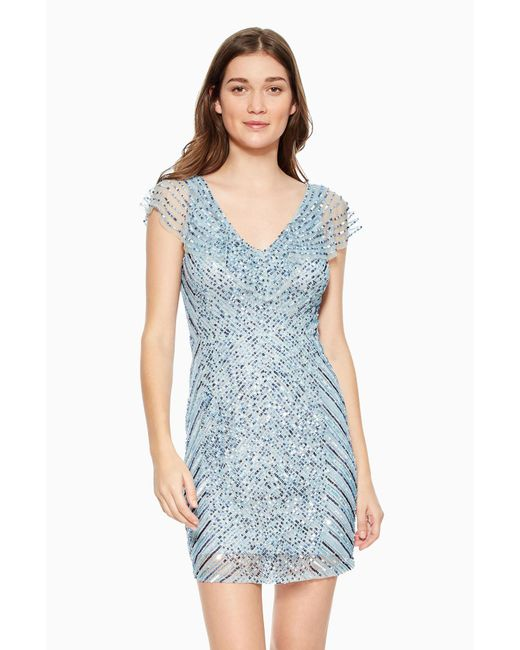 Parker - Blue Daley Dress - Lyst