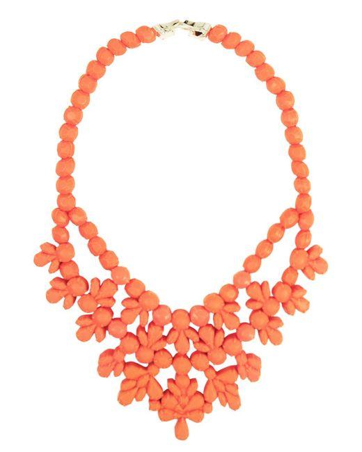 EK Thongprasert - Orange Silicone Single Layer Neckpiece Salmon - Lyst