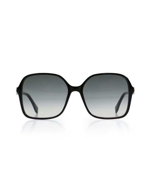 Fendi - F Is Square Sunglasses Black - Lyst