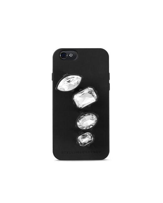 Stella McCartney - Embellished Ring Iphone 6 Case Black - Lyst