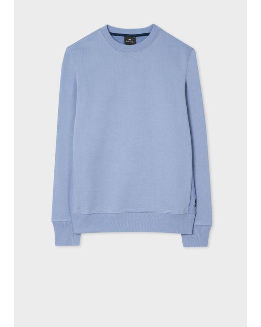 Paul Smith - Blue Men's Navy Cotton-blend Panelled Sweatpants for Men - Lyst