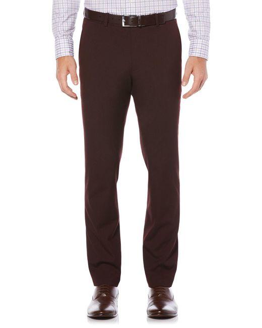 Perry Ellis - Brown Slim Tonal Dress Pant for Men - Lyst