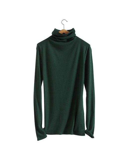 Petit Bateau   Green Women's Light Cotton Fine Sweater   Lyst