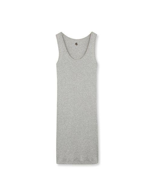 Petit Bateau | Gray Women's Nightie In Ultra Light Cotton | Lyst