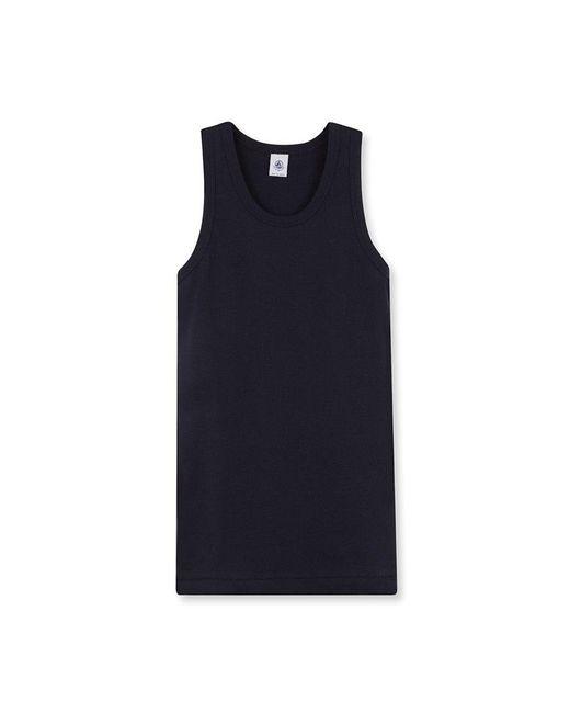 Petit Bateau | Blue Women's Plain Iconic Vest Top | Lyst
