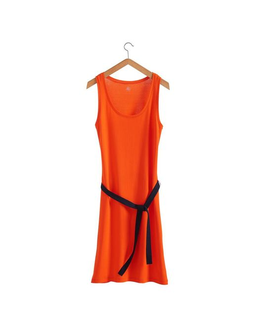 Petit Bateau | Red Women's Vest Top Dress In New Cotton | Lyst