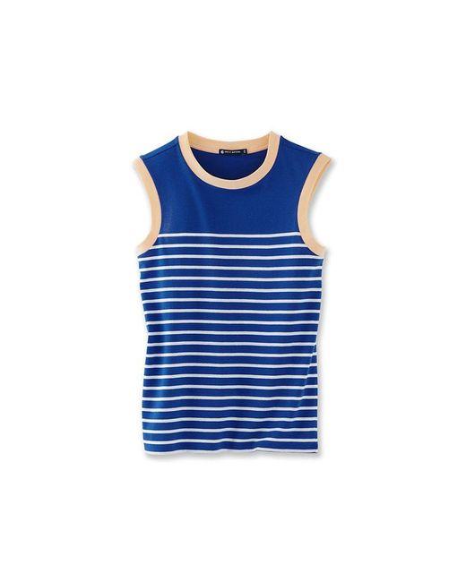 Petit Bateau | White Women's Sailor-stripe Vest Top | Lyst