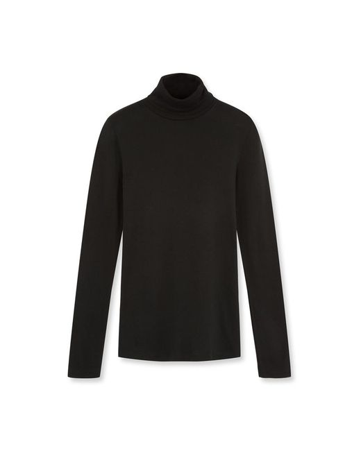 Petit Bateau | Black Women's Undersweater In Light Cotton | Lyst