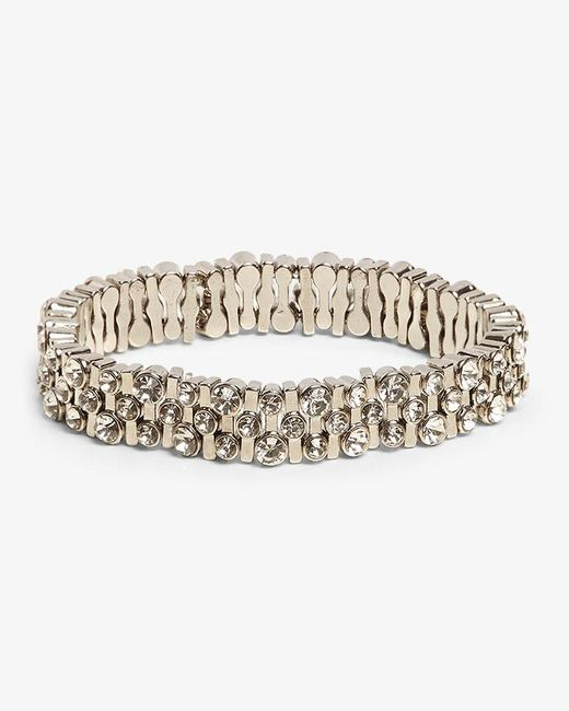 Phase Eight - Metallic Winona Sparkle Stretch Bracelet - Lyst