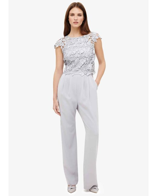 Phase Eight - Multicolor Nieve Lace Bodice Jumpsuit - Lyst