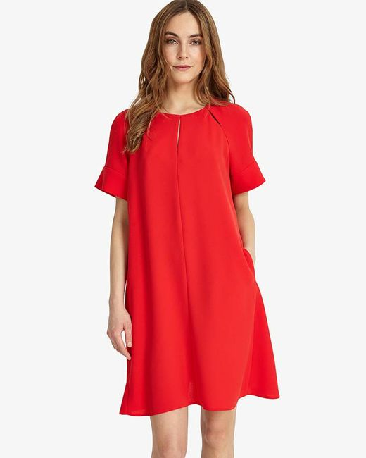 Phase Eight - Red Zoe Swing Dress - Lyst