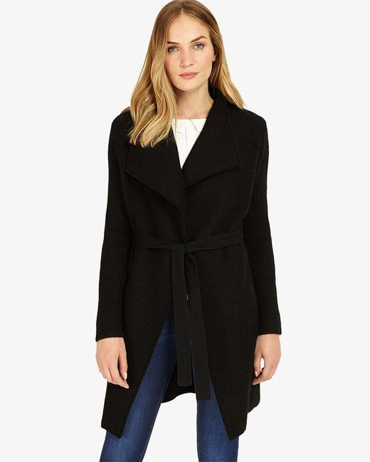 Phase Eight - Black Aaliyah Coat - Lyst