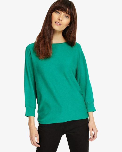Phase Eight - Green Becca Smart Batwing Knitted Jumper - Lyst