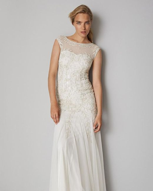Phase Eight Sabina Embellished Wedding Dress - Lyst