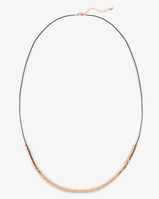 Phase Eight - Multicolor Danni Cord Seedbead Necklace - Lyst