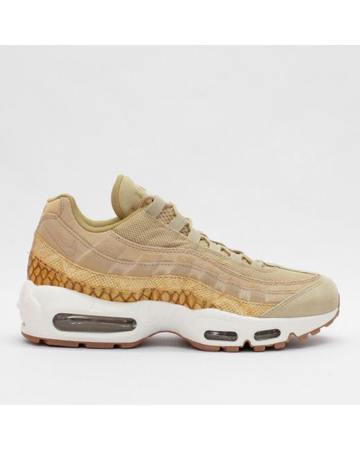 Men's Nike Air Max 95 Premium Se Vachetta Tan 924478 201