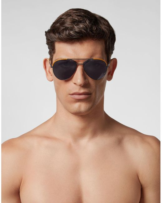 ba6a9cd7bdd Lyst - Philipp Plein Sunglasses