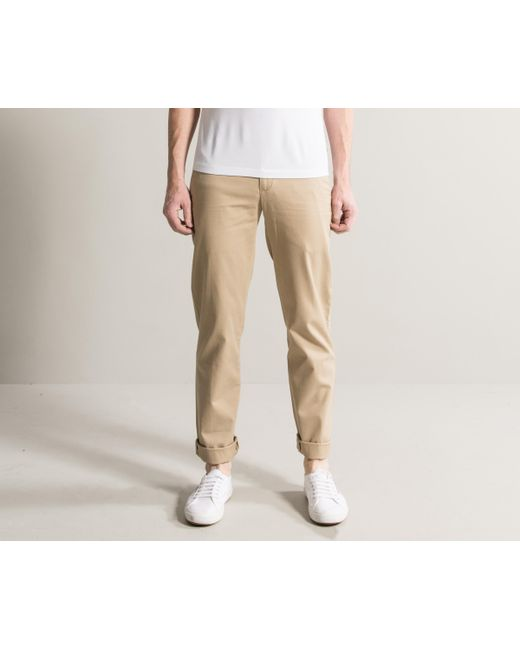 699bbc426 Polo Ralph Lauren - Natural Slim Fit Military Chinos Classic Khaki for Men  - Lyst ...