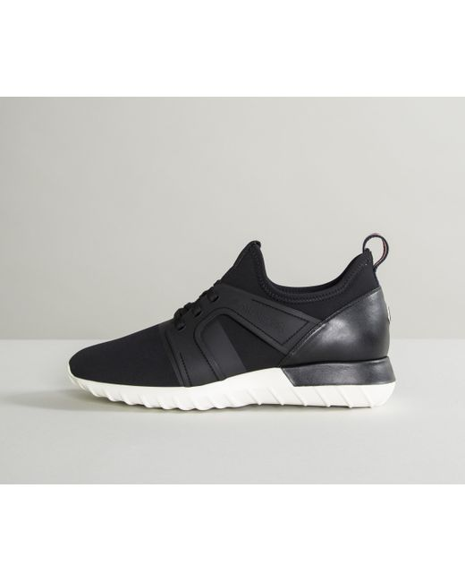 Moncler - 'emilien' Neoprene Sock Trainers Black for Men ...