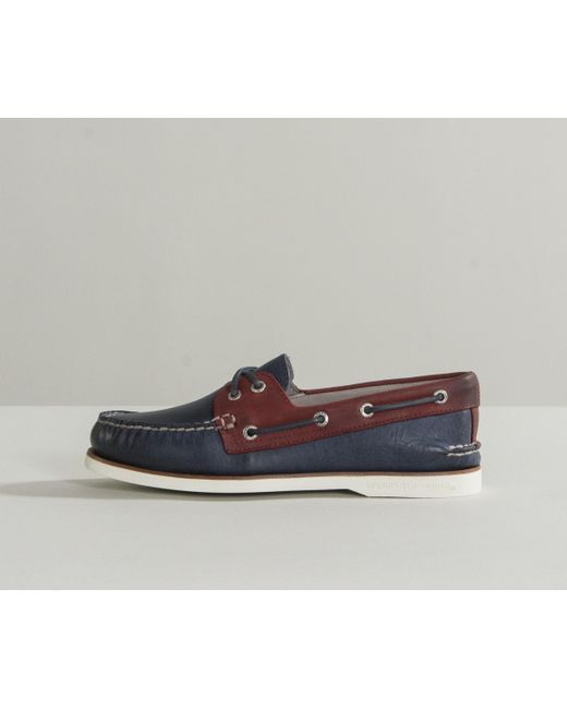 1d81f68a761 Sperry Top-Sider  top-sider  Gold Cup Luxury Deck Shoes Navy red for ...