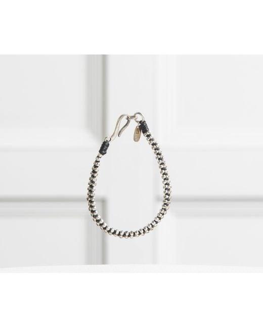 Paul Smith - Metallic Double Link Design Bracelet Silver - Lyst