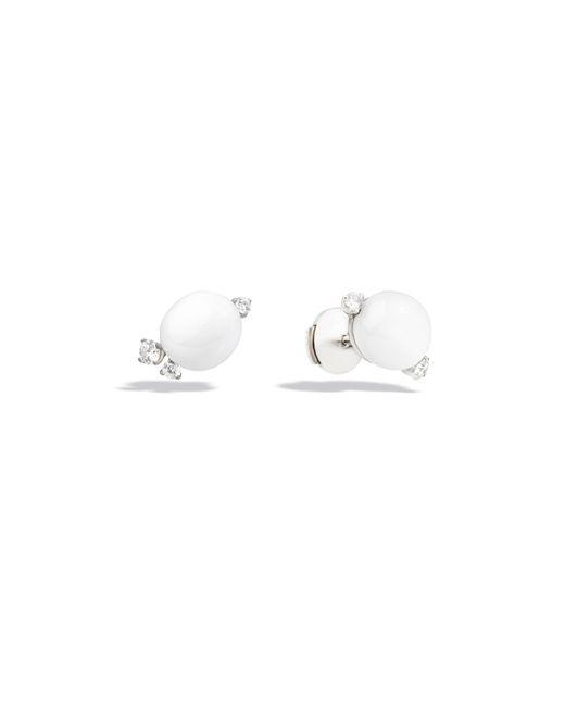 Pomellato | White Earrings Capri | Lyst