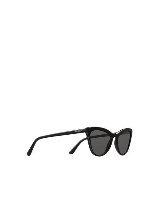 69419977db8 ... Prada - Black Ultravox Sunglasses Alternative Fit - Lyst ...