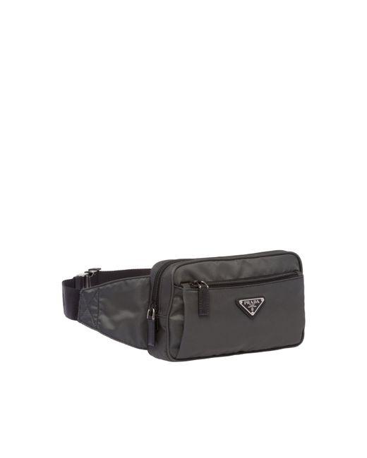 ... Prada - Black Nylon Belt Bag for Men - Lyst ... 062de49c4ca1c