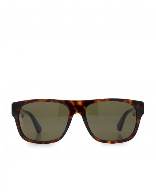 e0f53d0ee30 Gucci - Multicolor Classic Logo Arm Sunglasses for Men - Lyst ...