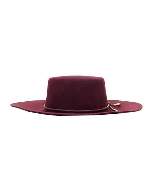 Ted Baker - Purple Fedora Felt Hat - Lyst
