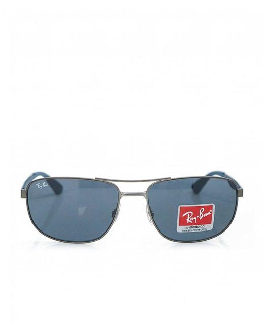 Ray-Ban - Gray Double Bridge Square Sports Glasses for Men - Lyst