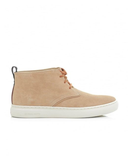 Paul Smith - Natural Fong Suede Cupsole Chukka Boots for Men - Lyst