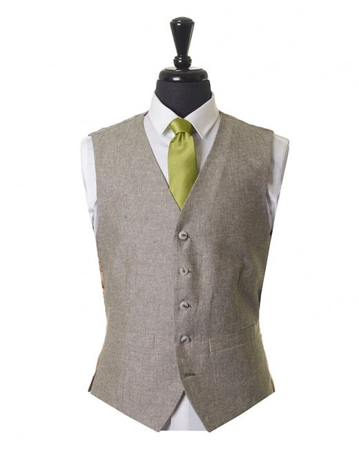 Gibson London - Green Flecked Waistcoat for Men - Lyst