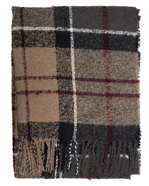 Barbour - Multicolor Tartan Boucle Scarf - Lyst