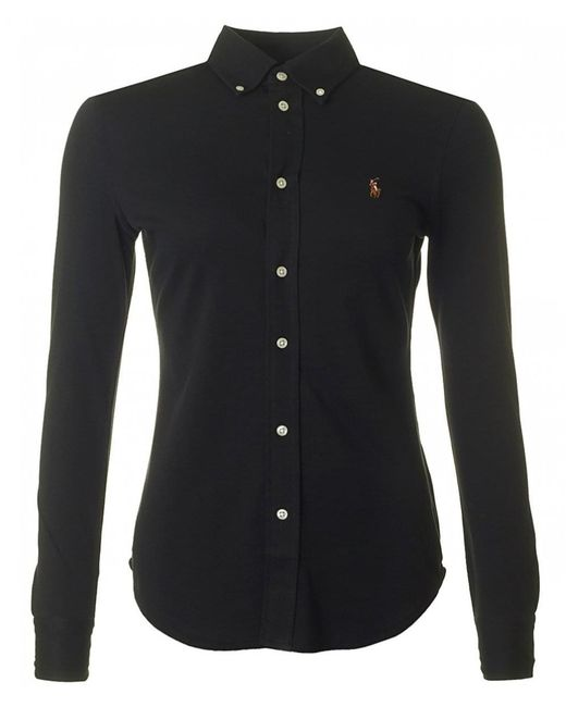 Polo Ralph Lauren - Black Heidi Stretch Shirt - Lyst