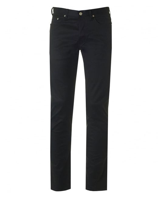 Paul Smith | Black 5 Pocket Tapered Fit Pants for Men | Lyst