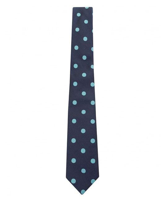 Paul Smith - Blue Slim Polka Stripe Tie for Men - Lyst