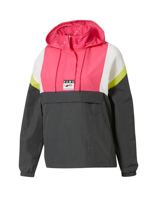 71b44c9f0374 PUMA - Multicolor 90s Retro Women s Windbreaker ...