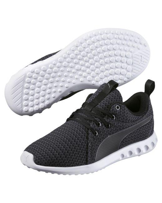 ... Lyst PUMA - Black Carson 2 Knit Women s Running Shoes for Men ... 52e2484b3