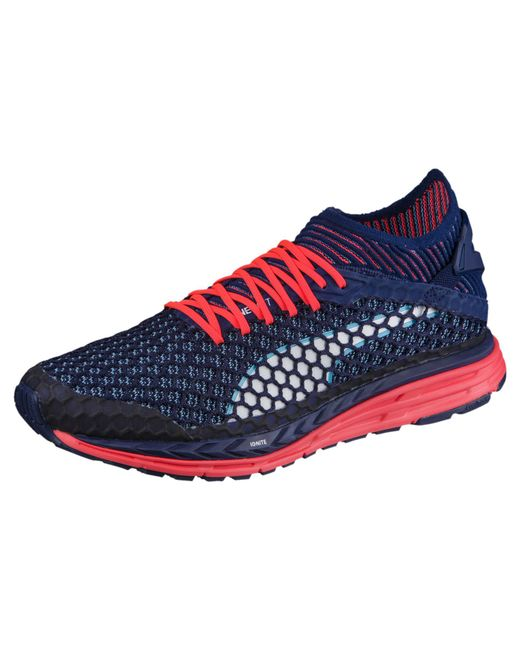 2748e6335 ... puma 365 ignite netfit men s street football trainers. puma blue speed ignite  netfit ...